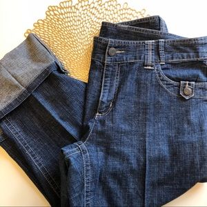 Style & Co denim crop and ankle length size 10